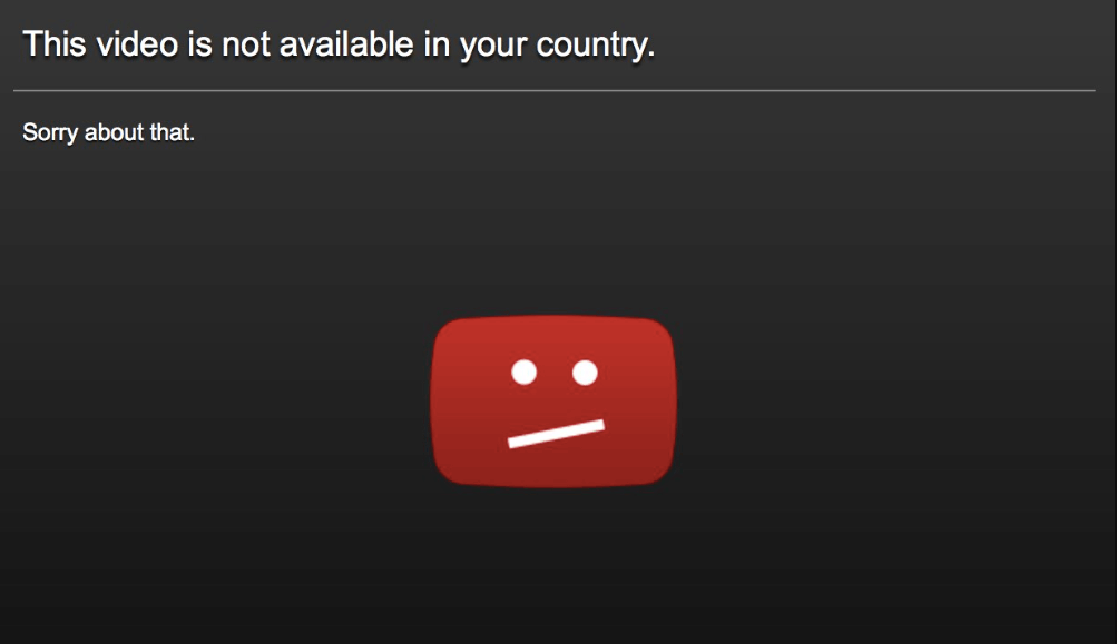 Access to Youtube videos are blocked