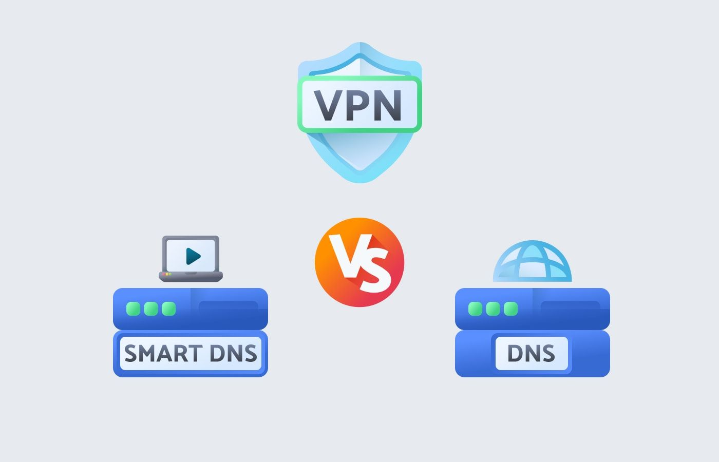 DNS Vs. VPN Vs. Smart DNS: How Are They Different And Which Tool Will Fit Your Needs Best