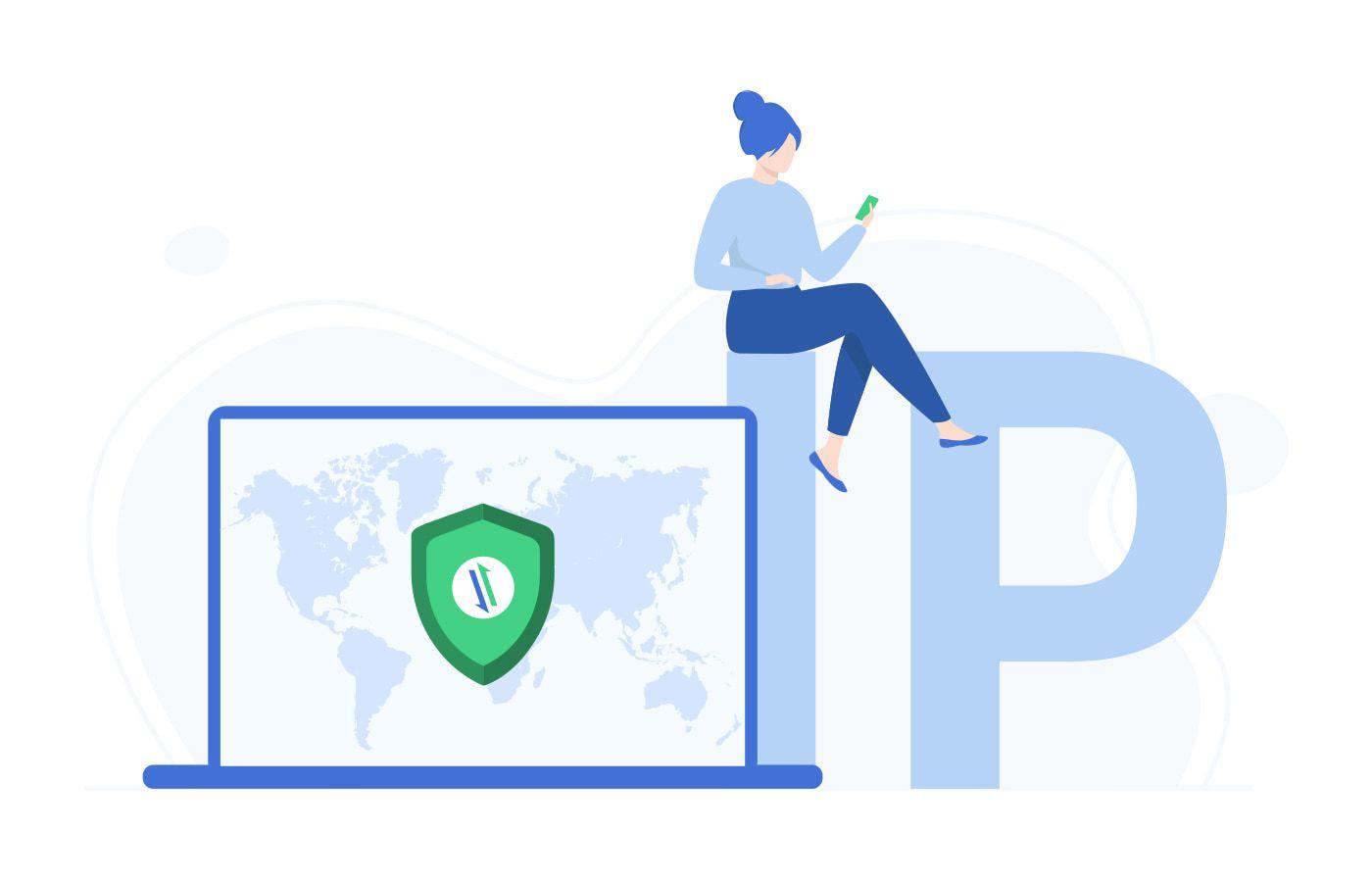 VPN location changer